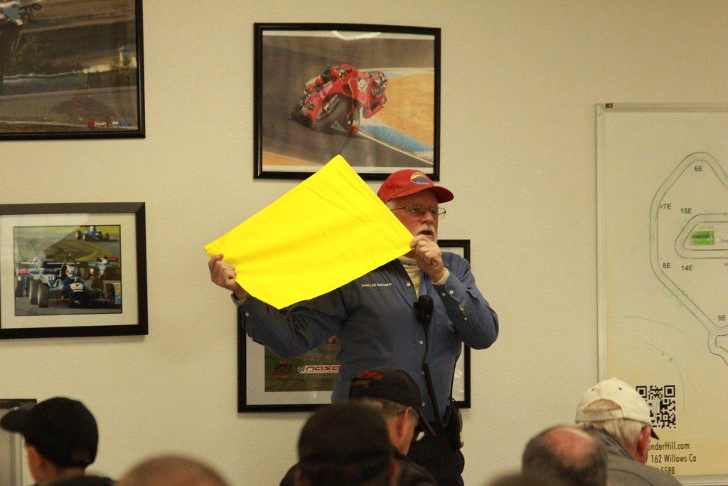 DE class -- yellow flag