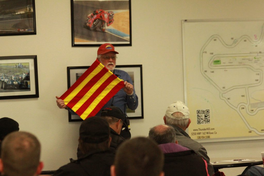 "DE class:  the ""oil"" flag"