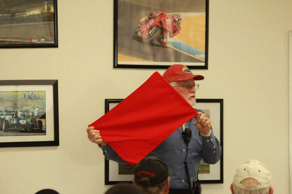 DE class:  Red flag