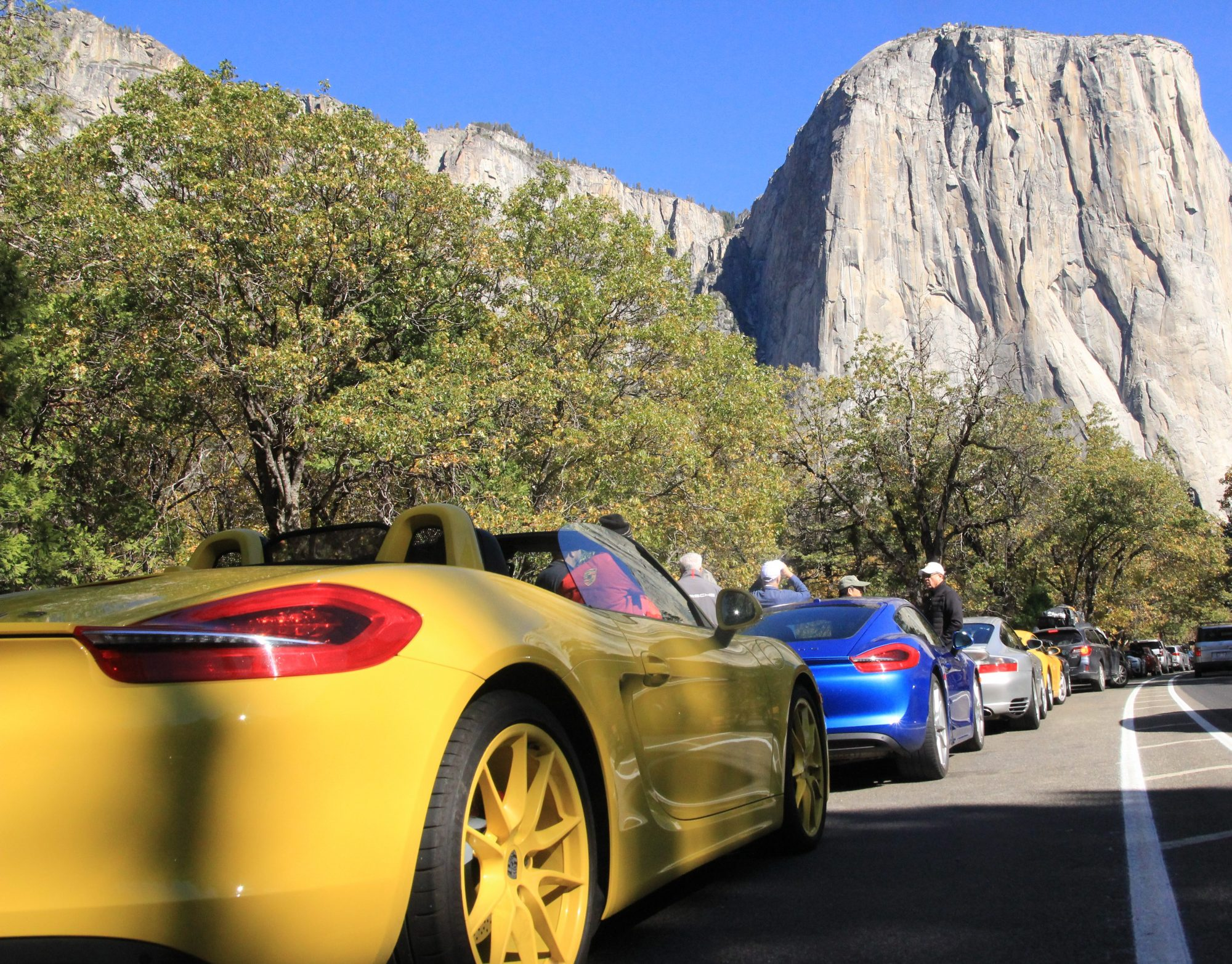Porsches and El Capitan.. !!